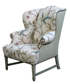 Chair, wingback, mimi quartz, hhh-16-mimiquartz - SIMILAR TO MY CHAIR!