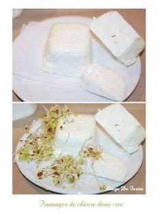 Fromages de chèvre demi-sec