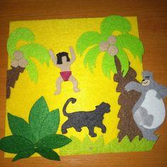 """0 aprecieri, 1 comentarii - conejito86 (@baby_boy_quietbook) pe Instagram: """"#junglefelt #quietbook  #toys #babyboyquietbook #mowgli  #junglebook"""""""