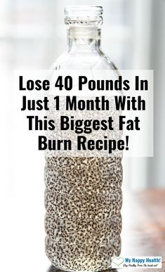 Lose 40 Pounds In Just 1 Month With This Biggest Fat Burn Recipe! Lose 40 Pounds In Just 1 Month With This Biggest Fat Burn Recipe! Losing weight is difficult for a Weight Loss Drinks, Fast Weight Loss, Lose Weight, Loosing Weight, Weight Loss Smoothies, Fat Fast, Fat Burning Smoothies, Fat Burning Detox Drinks, Best Fat Burning Foods