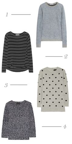 Four Favorite Sweaters