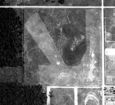 Paxon Field, 1943 govt aerial photograph - Abandoned & Little-Known Airfields: Florida, Northwestern Jacksonville area Abandoned, Photograph, Florida, Sky, Painting, Color, Left Out, Photography, Heaven