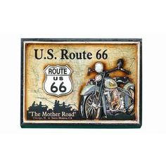 Pub Sign - Route 66 https://www.studio9furniture.com/entertain/bar-decor/wall-decor/pub-sign-route-66  Don't get lost with this famous Route 66 wall decor made from MDF / Polyresin material.