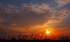 Sunset. Friesland Holland 12.6.2015