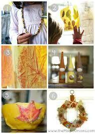El otoño es una de las estaciones que más se presta a hacer manualidades con los materiales que nos brinda la propia naturaleza. Te contamos un montón de ideas para que los niños de primaria las pongan en práctica.