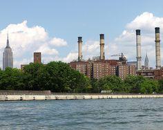 Lower East Side, East River, New York City