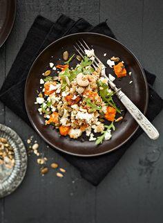 Kurpitsa-kvinoasalaatti | Reseptit