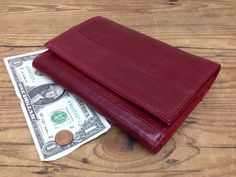 Sale!!! Burgundy Women Leather Wallet red women's leather wallet women caredit cards wallet red purse iphone wallet by PLGdesigns on Etsy