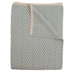 Herringbone Throw in Colonial Blue from the Studio Twist event via Joss and Main! $149.95 #josscontest