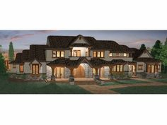 Eplans Prairie House Plan - Six Bedroom Prairie - 5155 Square Feet and 6 Bedrooms(s) from Eplans - House Plan Code HWEPL68465