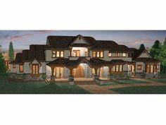 Eplans Prairie House Plan - Six Bedroom Prairie - 5155 Square Feet and 6 Bedrooms(s) from Eplans - House Plan Code HWEPL68465