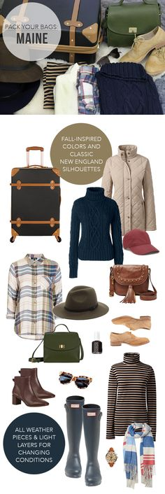 @TheSteeleMaiden - What to Pack for a Coastal New England Fall Road Trip
