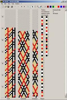 Схемы для вязаных бисерных жгутов. Обсуждение на LiveInternet - Российский Сервис Онлайн-Дневников