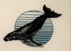 Beaded Embroidery, Cross Stitch Embroidery, Cross Stitch Patterns, Snitches Get Stitches, Perler Patterns, Crossstitch, Whales, Perler Beads, Cross Stitching