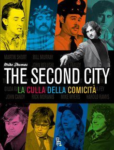 Sul palco del Second City molte generazioni di comici americani si sono fatti le ossa. Un libro corale racconta la storia di questo teatro...  | Mike Thomas - The Second City, la culla della comicità - Sagoma