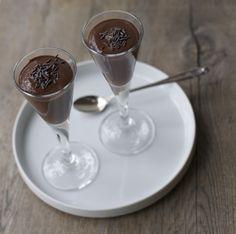 Budín de chocolate vegano / Vegan chocolate pudding | En mi cocina hoy