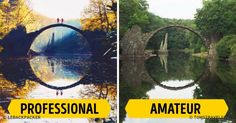 This IsWhat the Same Destination Looks Like When Photographed byaProfessional and anAmateur