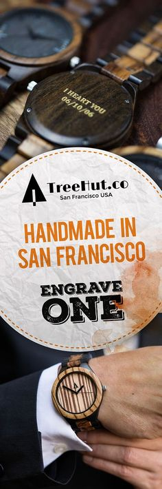 Up to 30% off for our 24-Hour Father's Day Sale! Handcrafted in San Francisco. Nature-inspired designs that make the perfect gift for your special ones! See the full collection at Tree Hut.