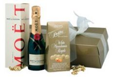 Nothing says Congratulations for your hard work better than a bottle of Moet & Chandon!