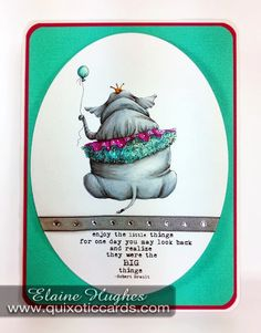 Quixotic Inspirations: Fun with the Stamping Bella Christine Grove Collection!