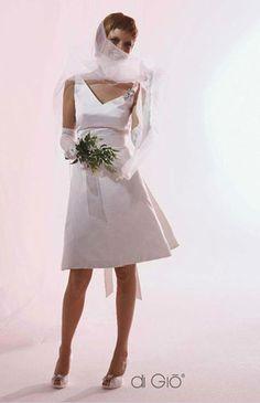Le spose di Giò abito da sposa corto Collezione Informale 2011