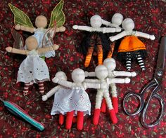 The Fairies Nest - OOAK Cloth Dolls & Fiber Fantasies: WIP Wednesday