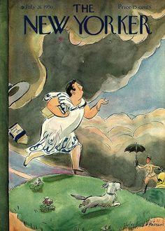 Helen E Hokinson NewYorker cover July 1930