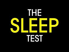 Besides the test in the first part of the video, In 59 Seconds' Richard Wiseman points out three clues you might be sleep deprived: needing to wake up with an alarm, falling asleep within five minutes of lying down, and relying on caffeine to get through your day. Falling asleep quickly is the most surprising one (since many of us would love to fall asleep faster), but the point is probably that if you're always asleep as soon as your head hits the pillow, you're likely dead tired all the