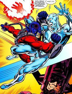 Silver surfer vs Orion l Justice League Blog - El Blog de la Liga de la Justicia: RC - Darkseid ...