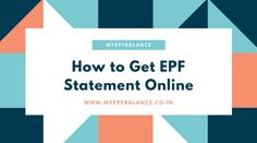 41 Best My EPF Balance images in 2018 | Check, Fund accounting, Gate