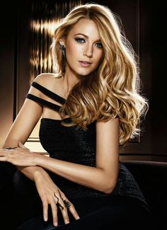 """Blake Lively ♥ Blake Lively. #BlakeLively. """"View every piece of coal as the potential diamond in rough. Goodness and Beauty do exist in every being."""" - Deodatta V. Shenai-Khatkhate."""