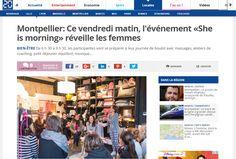 20 minutes - Mai 2015 http://www.20minutes.fr/montpellier/1617179-20150527-montpellier-vendredi-matin-evenement-she-is-morning-reveille-femmes