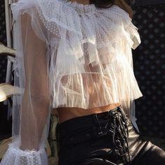 ruffles & lingerie