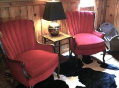 Reading Loft in the barn house