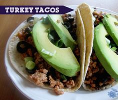 Clean Turkey Tacos. No seasoning packets! Gluten Free/Dairy Free/Soy Free #cleaneating #20minutemeals