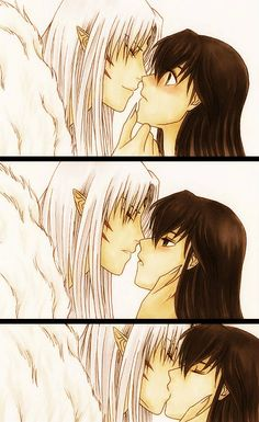 InuYahsa - Sesshoumaru & Kagome (Ebony-of-the-Moon)
