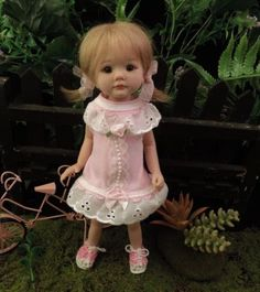 """MARCELA"" 10""polymer clay baby art doll OOAK by URSULA"