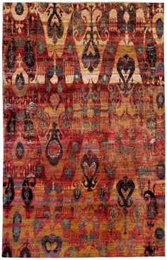 "Silk Ethos 7'8""x12'1"": Ethos oriental rugs  - ABC Carpet & Home"
