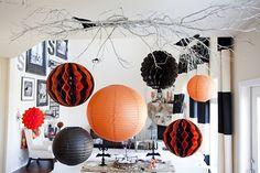 Halloween home decor inspiration! Mantels and more - Handmade Mood