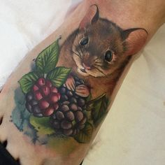 16 Small Rat And Mouse Tattoos
