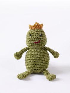 Amigurumi Prince Charming Frog Pattern (Crochet)
