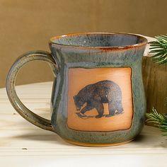 Bear Pottery Mug