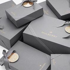 Gift Wrapping for Christmas | Gray & Gold