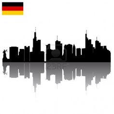 Frankfurt Cityscape tattoo