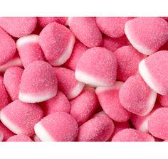 Gummy Strawberry Puff Drops: 5LB Bag $20