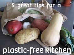 5 tips for a plastic free kitchen