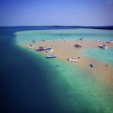 Torch Lake, Michigan ~ Sand Bar!!