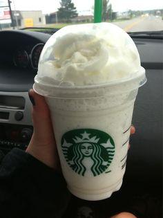 ♡Starbucks-vanilla bean frappuccino♡
