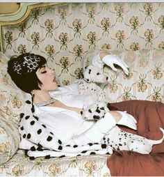 Monica Bellucci gets Cruella de Vil for Tatler Russia