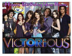 Victorious Tori Vega Victoria Justice Birthday Party Decoration Latex Balloons